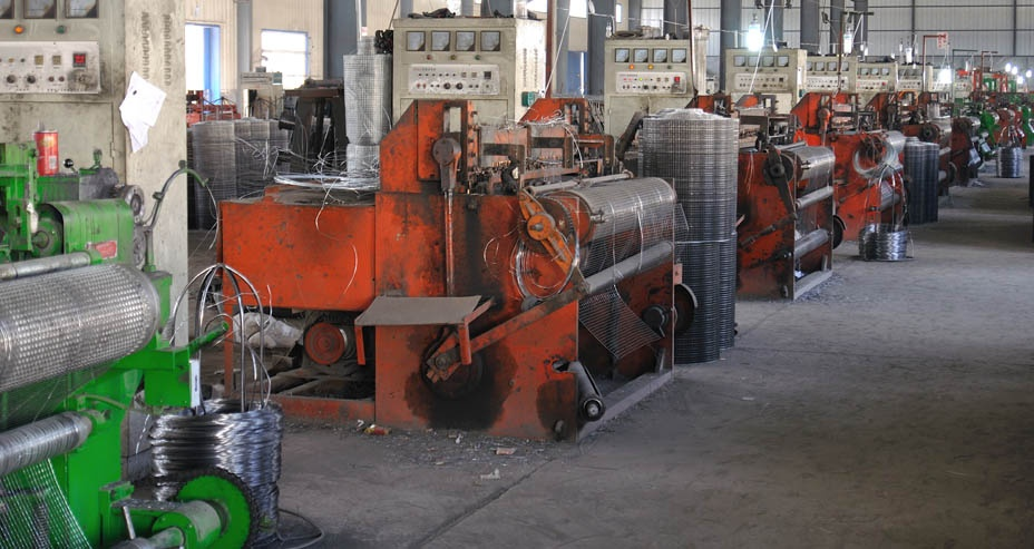 wire mesh equipment